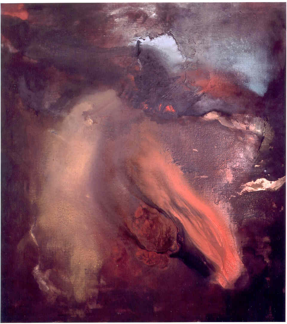 27 marzo, 2003, tempera acrilica su tela, cm 200 x 180  27 marzo, 2003, acrylic tempera on canvas, cm 200 x 180