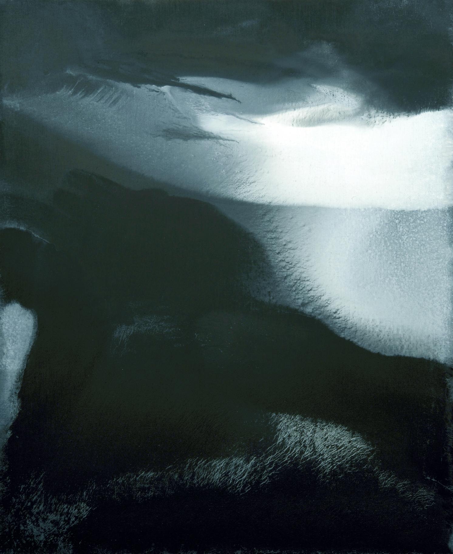 """senza titolo, 2010, dalla serie """"L'immagine accolta"""", olio su tela, cm 110 x 90  untitled, 2010, from the series """"L'immagine accolta"""", oil on canvas, cm 110 x 90"""