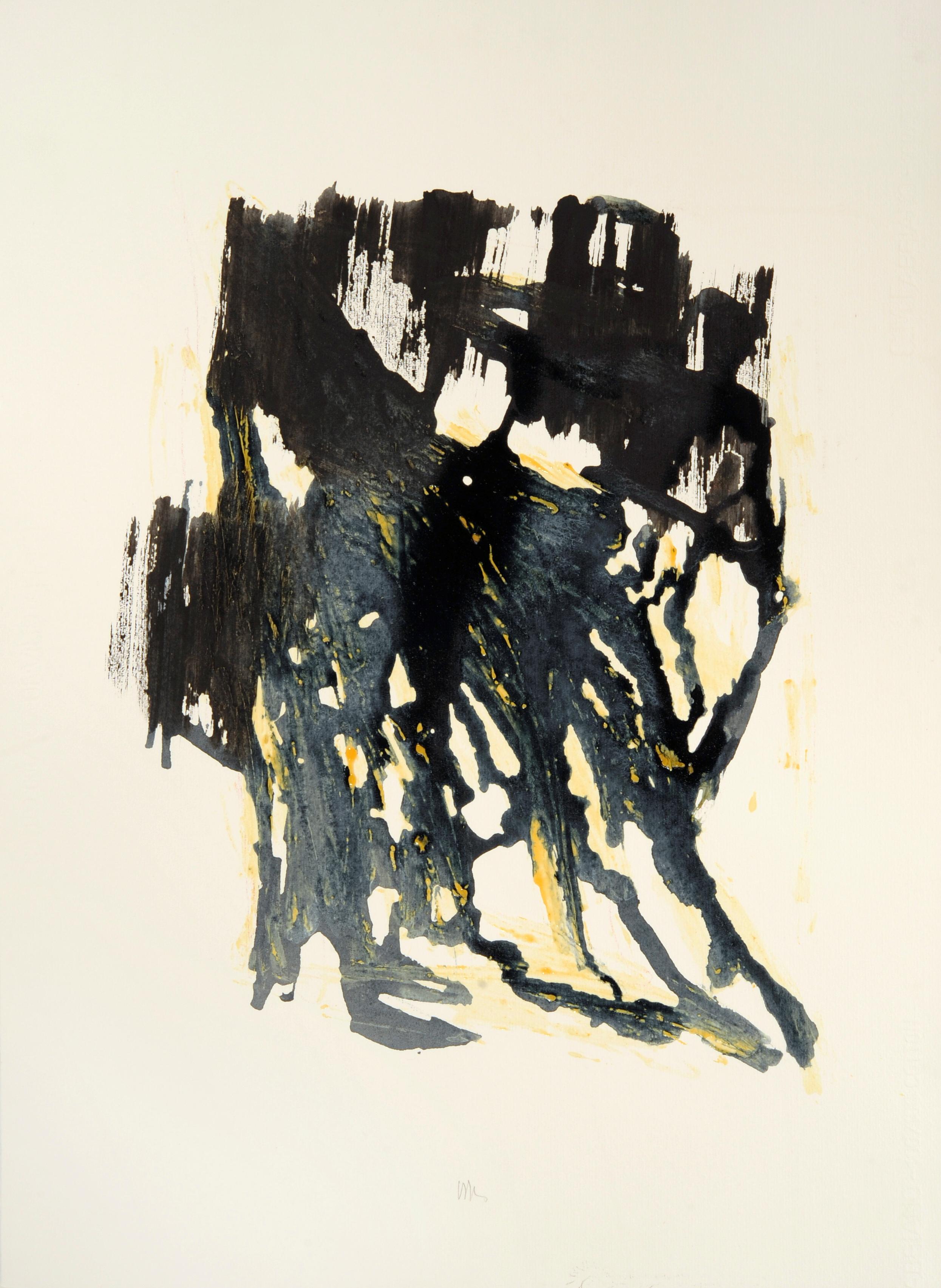 """senza titolo, dalla serie """"13 carte Fabriano"""", 1991, acrilico su carta Fabriano, cm 76 x 57  untitled, from the series """"13 carte Fabriano"""", 1991, acrylic on Fabriano paper,cm 76 x 57"""