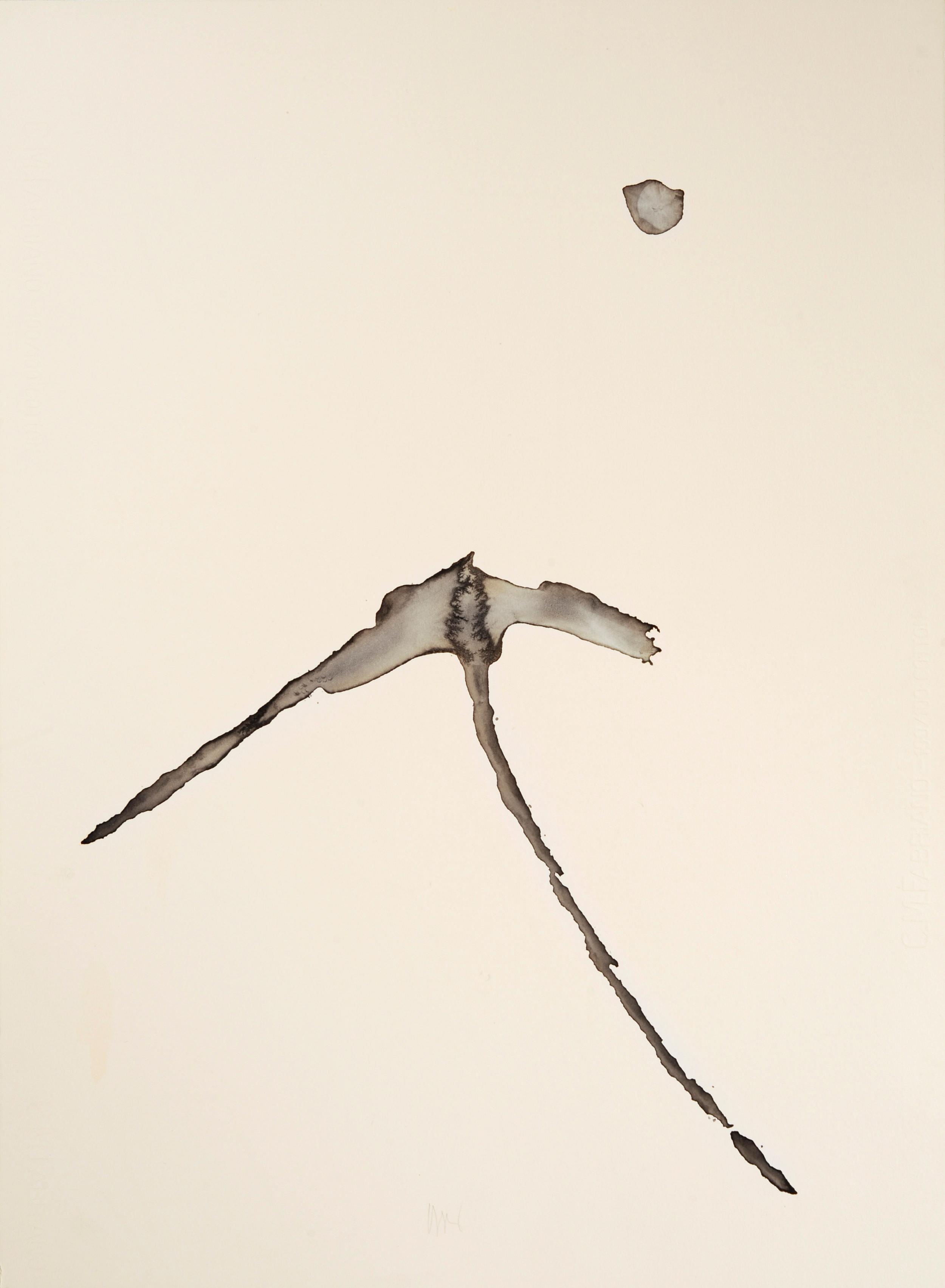 """senza titolo, dalla serie """"Epifania dell'innocenza"""", 1992, acrilico su carta Fabriano, cm 76 x 57  untitled, from the series """"Epifania dell'innocenza"""", 1992, acrylic on Fabriano paper, cm 76 x 57"""