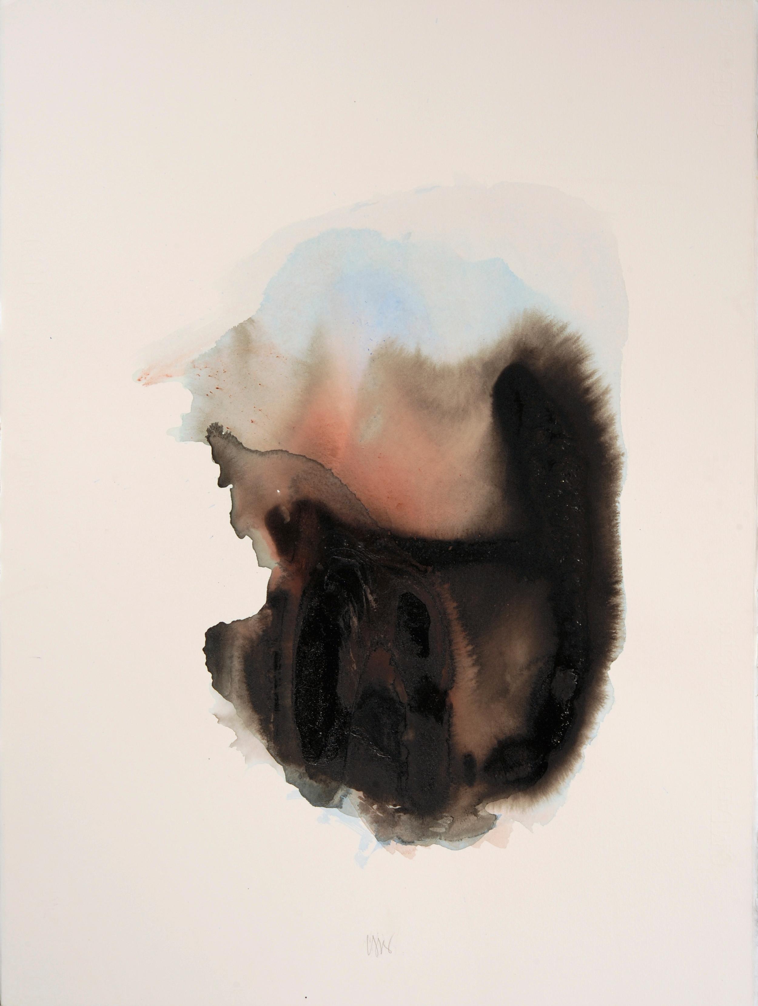 """senza titolo, dalla serie """"Epifania dell'innocenza"""", 1994, acrilico su carta Fabriano, cm 76 x 57  untitled, from the series """"Epifania dell'innocenza"""", 1994, acrylic on Fabriano paper, cm 76 x 57"""