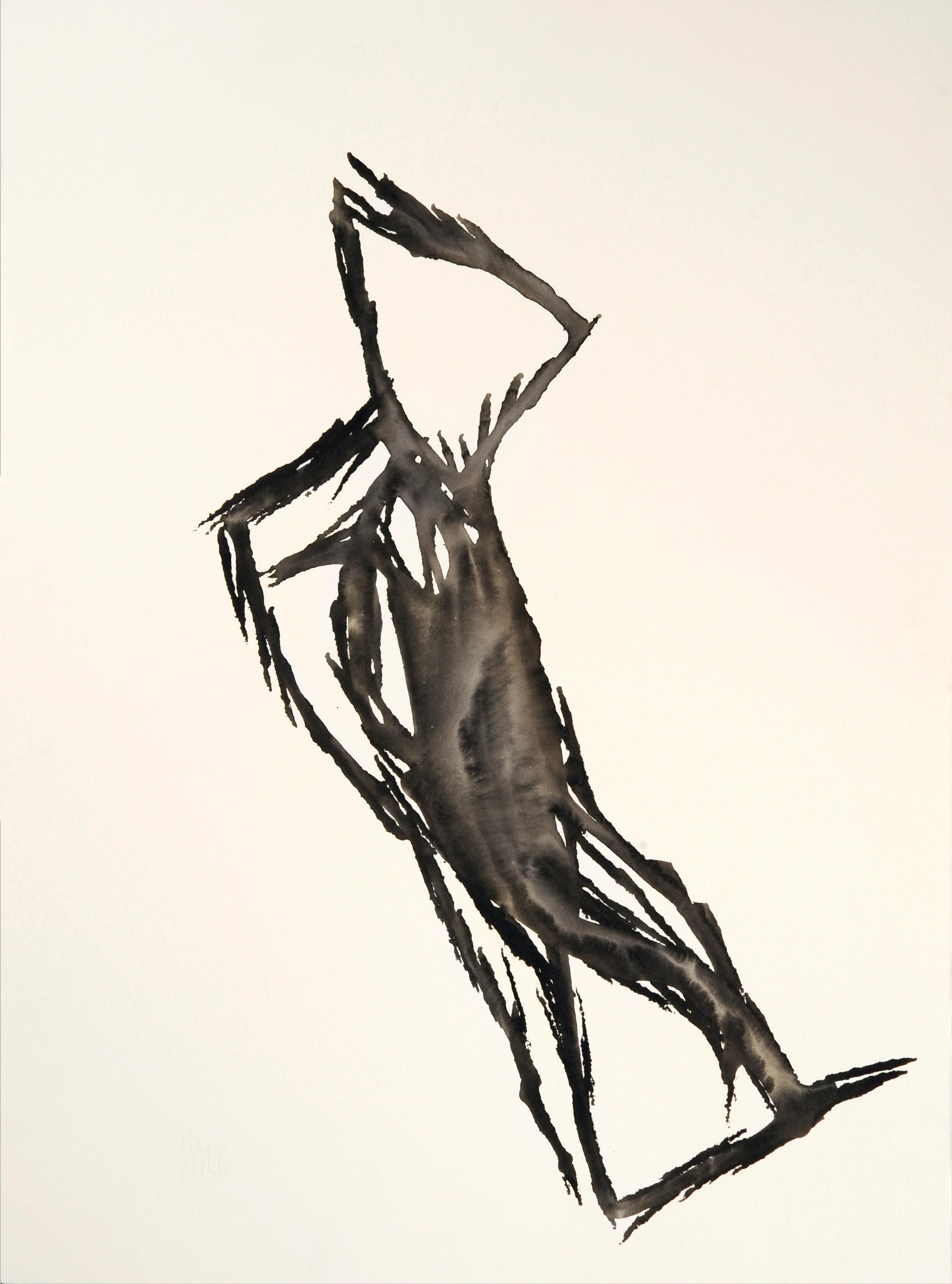 """senza titolo, dalla serie """"Pagine sparse"""", 1992, acrilico su carta Fabriano, cm 76 x 57  untitled, from the series """"Pagine sparse"""", 1992, acrylic on Fabriano paper, cm 76 x 57"""