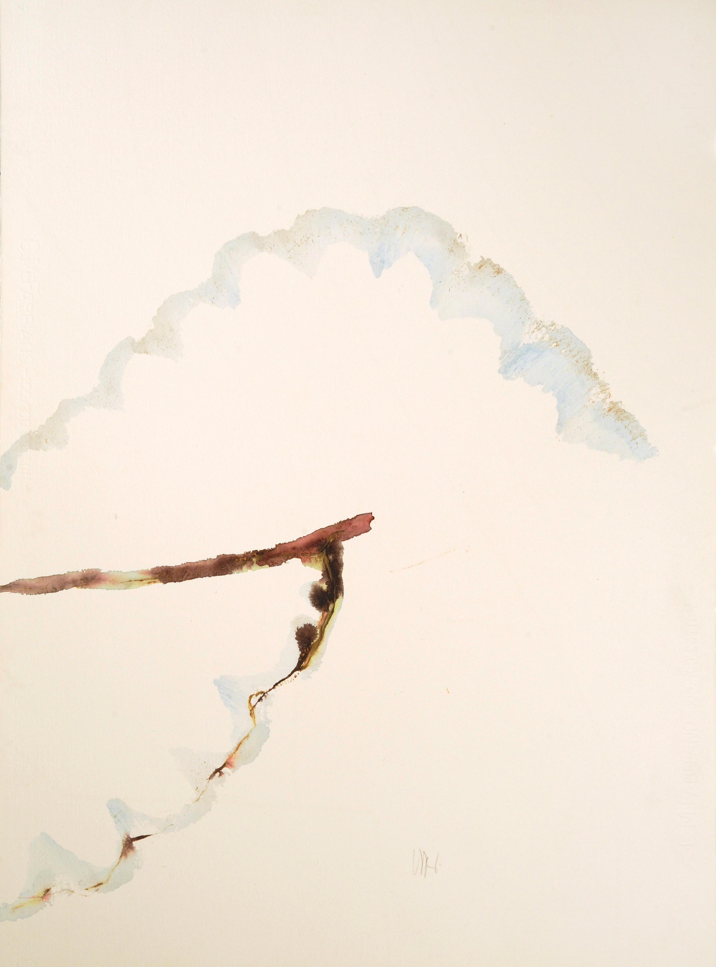 """senza titolo, dalla serie """"Signatura rerum"""", 1992, acrilico su carta Fabriano, cm 76 x 57  untitled, from the series """"Signatura rerum"""", 1992, acrylic on Fabriano paper, cm 76 x 57"""