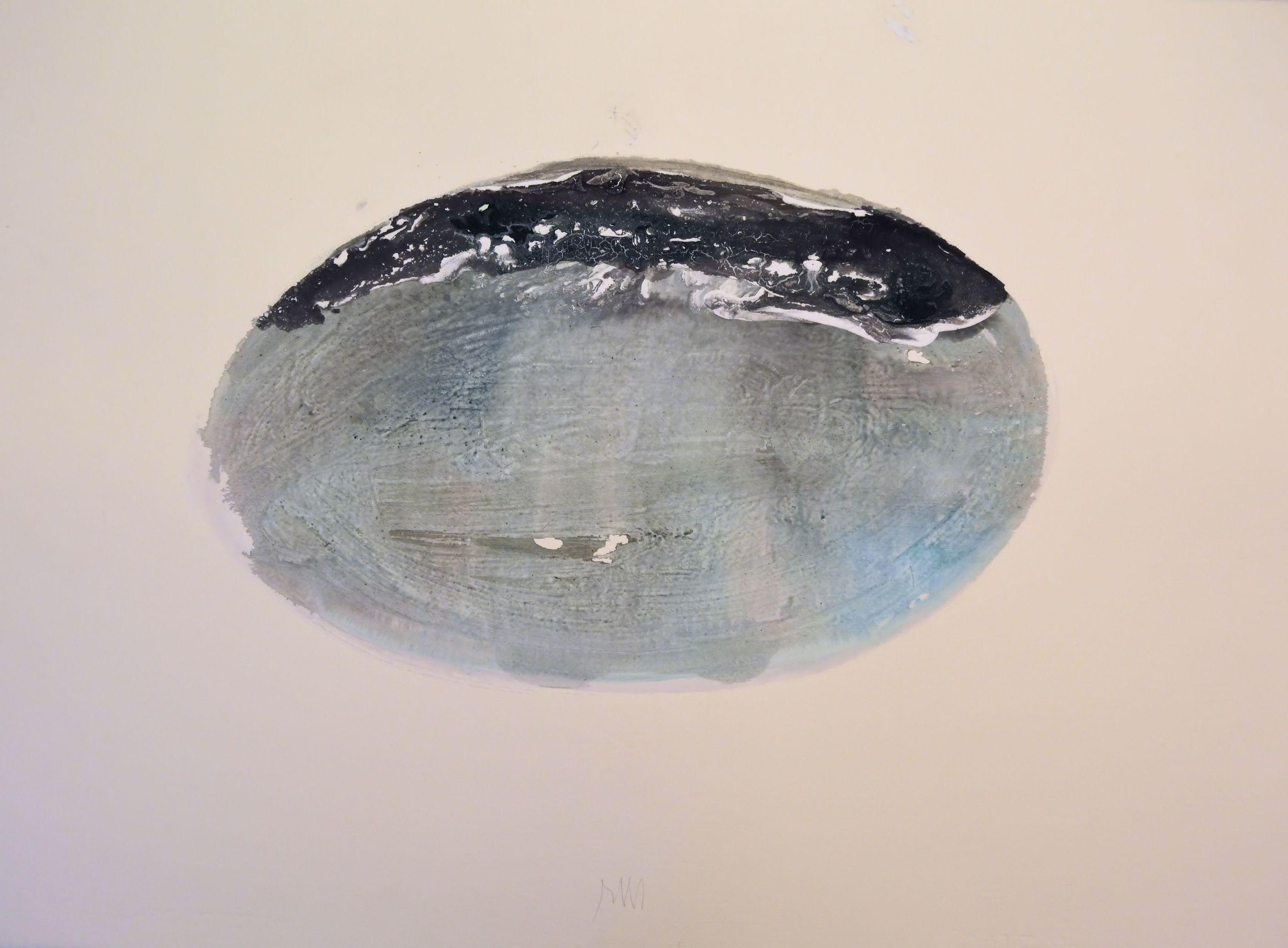 """senza titolo,dalla serie """"I miei luoghi', 2000,tempera acrilica su carta Fabriano, cm57 x 76  untitled, from the series """"I miei luoghi"""",2000, acrylic on Fabriano paper, cm57 x 76"""