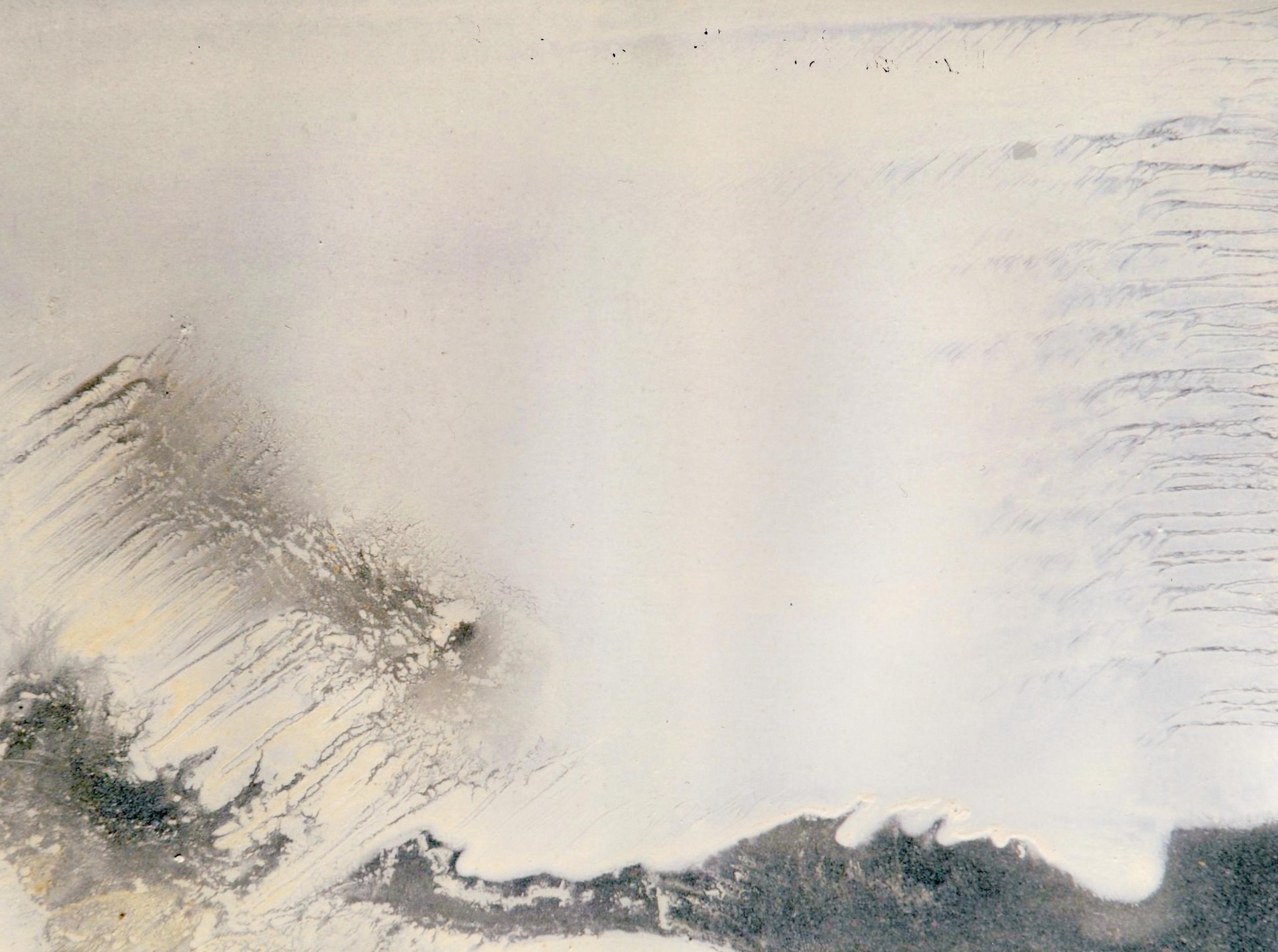 n.2,1980, dalla serie 'Le quattro stagioni', olio su lastra d'alluminio, cm 18x 24  n.2,1980, from the series 'Le quattro stagioni', oil on aluminium plate, cm 18x 24