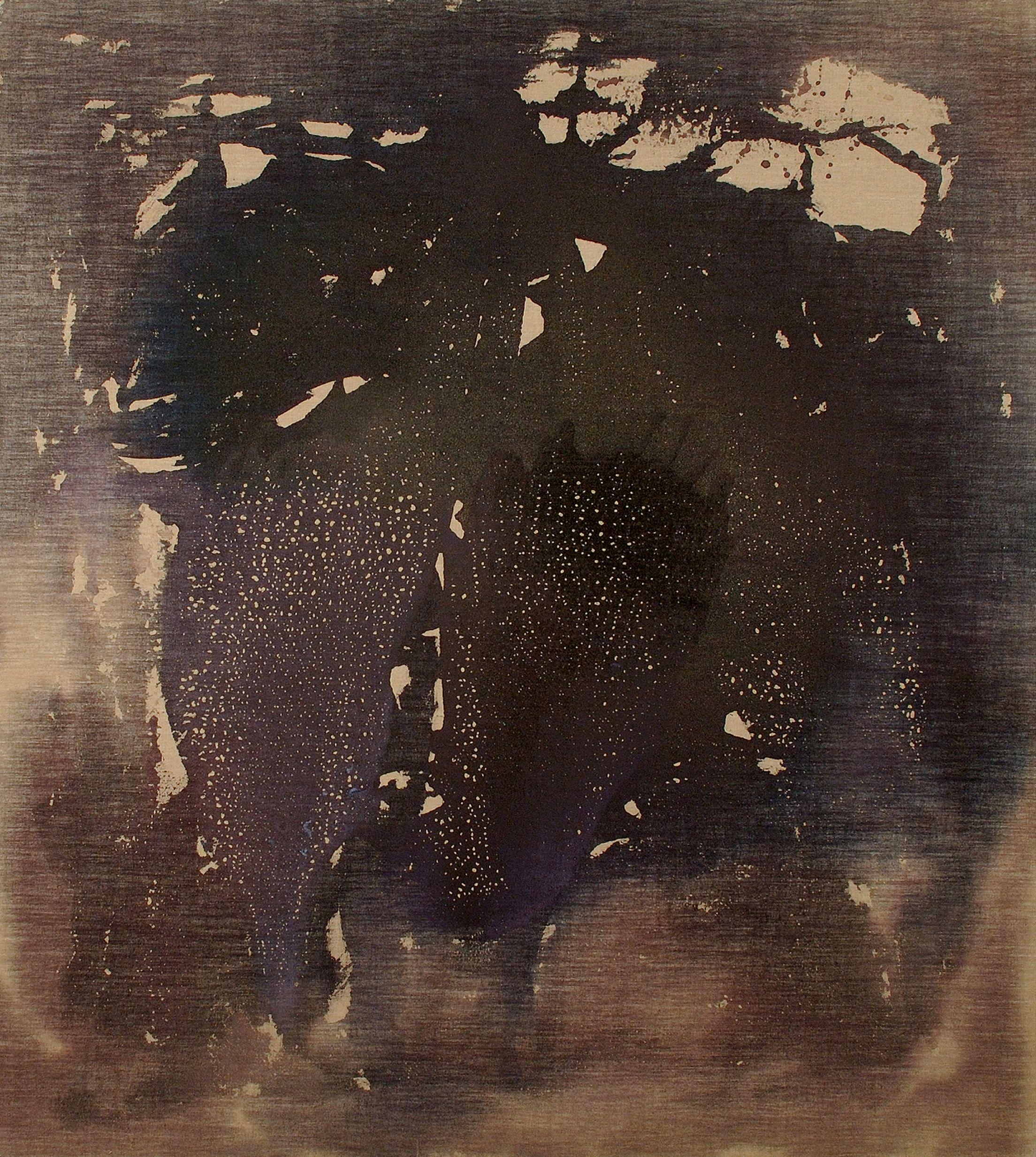 Se l'immagine mi é affidata, 2002, tempera acrilica su tela, cm 200 x 180  Se l'immagine mi é affidata (Accepting the image), 2002, acrylic tempera on canvas, cm 200 x 180