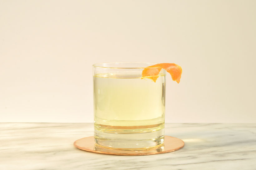To make milk punch, add warm milk to a batched cocktail made with citrus juice, to intentionally curdle it. Then stir the mixture and let it stand for up to 24 hours