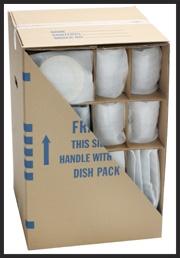 Dish pack carton