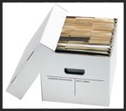 Record Storage Carton