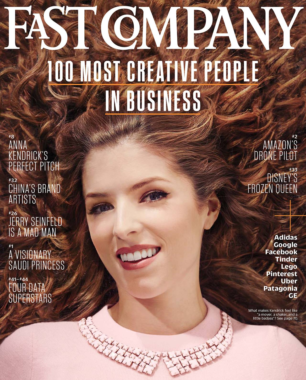 Anna Kendrick for Fast Company