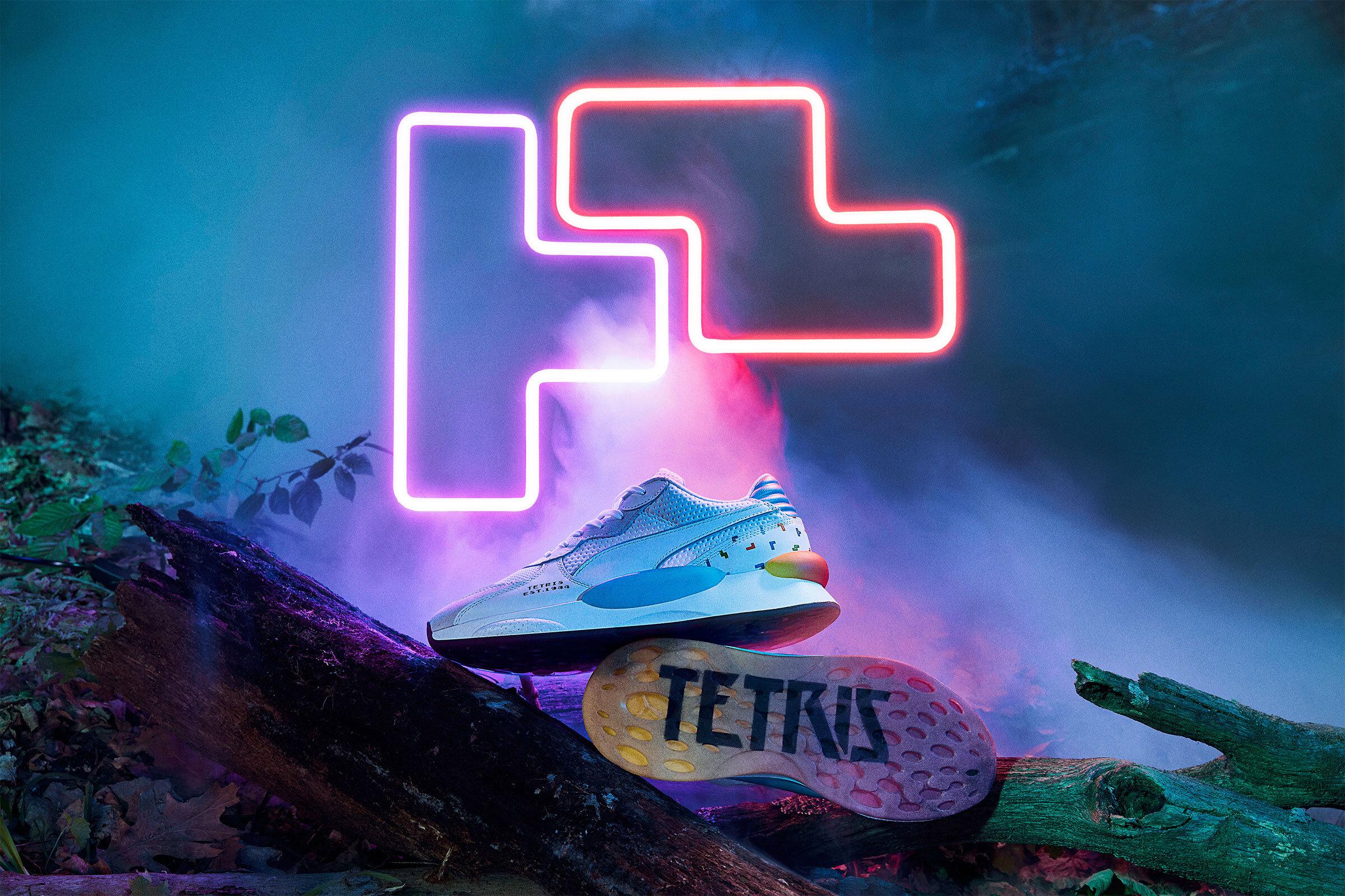 Puma x Tetris campaign