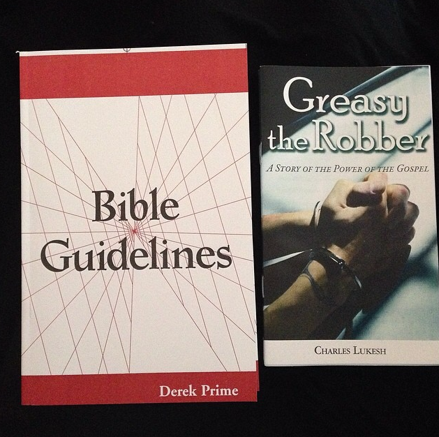Some of our favorites from Chapel Library --- Bible Guidelines and Greasy the Robber