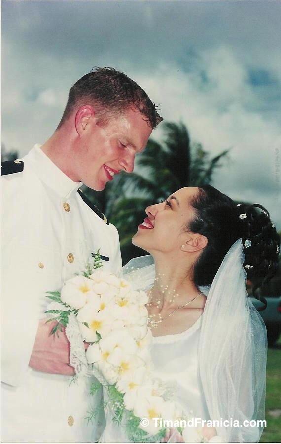 Our wedding day on the beautiful island of Saipan. Photography by Saipan Photo Lab