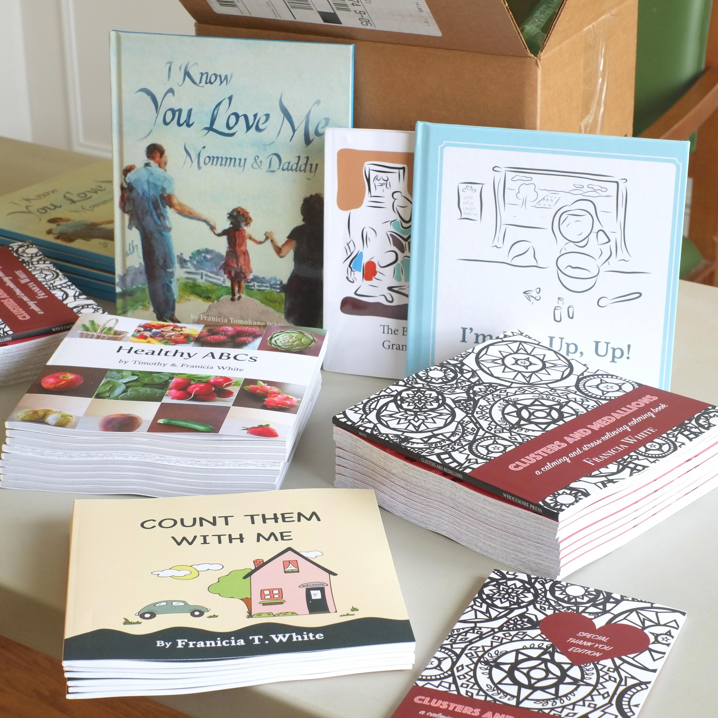 Tim and Franicia — Our Books