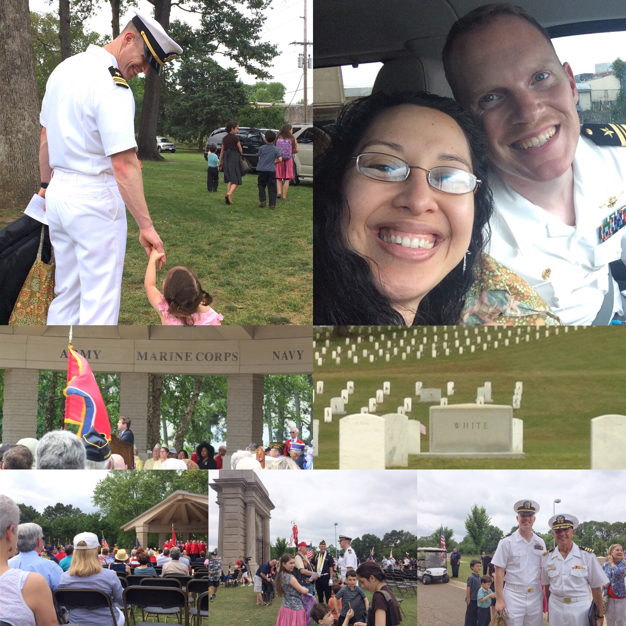 Last year's Memorial Day at the Chattanooga National Cemetery