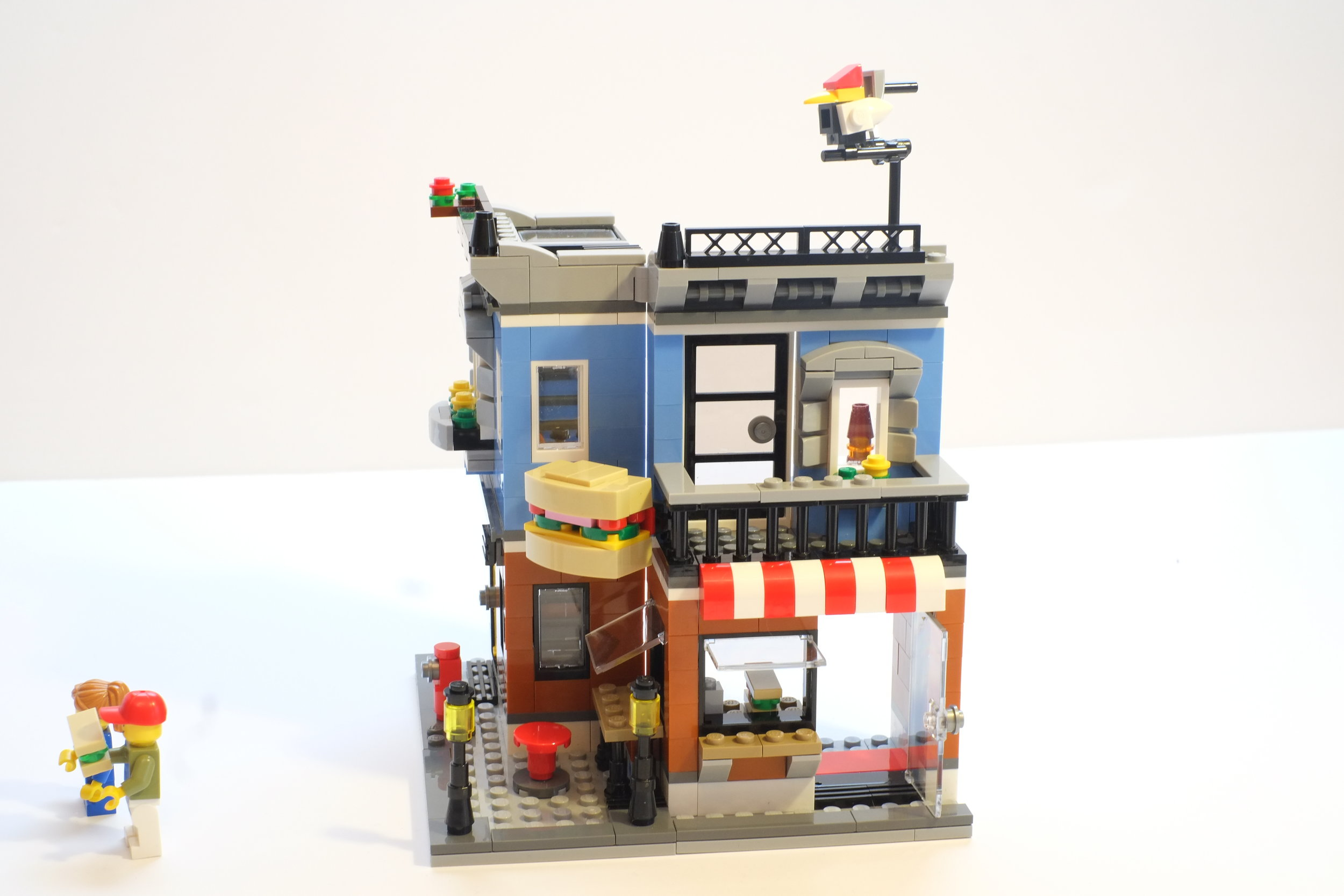One of five LEGO stop motion contest entries