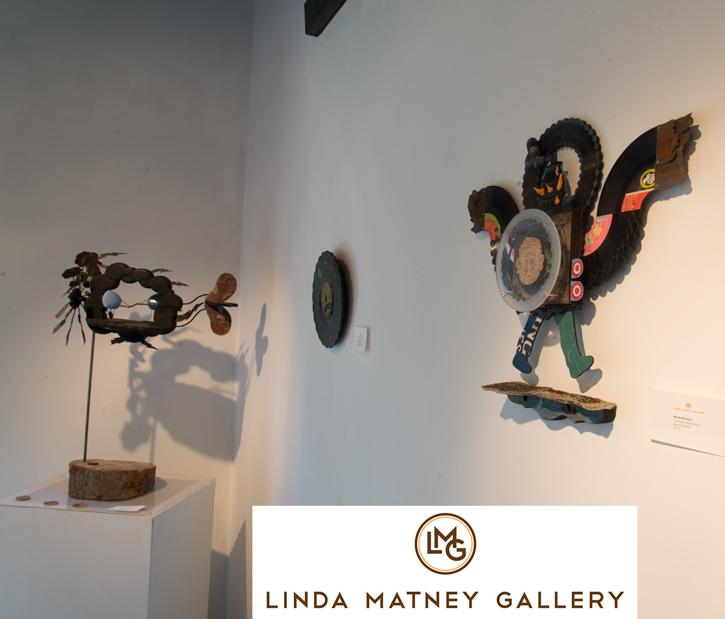 """Gallery view of Wade Mickley's """"Vulnerable Species"""" exhibit"""