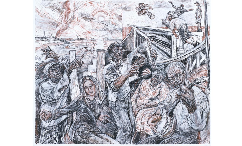 """""""Deluge"""" Art Rosenbaum"""