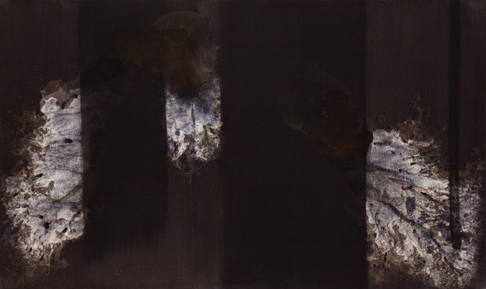 Shaun Whiteside - 2014 Elegy to the US Republic no 04 -after Motherwell- 36x60 inches