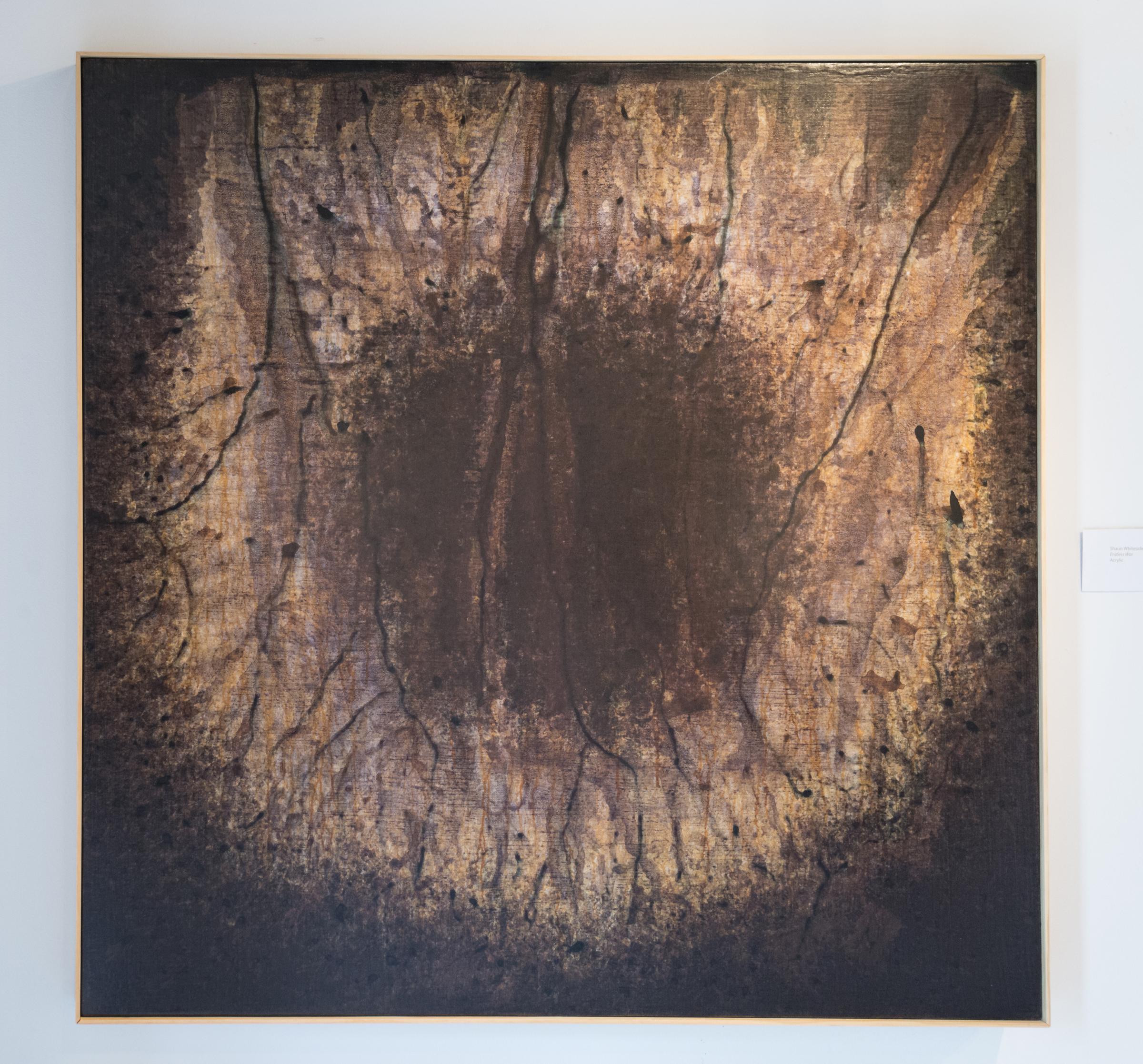 Shaun C. Whiteside,  Endless War , Acrylic on Canvas