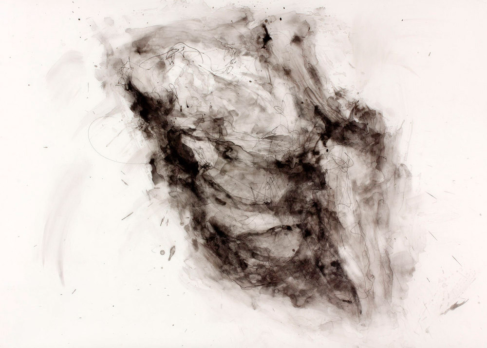 Michael K. Paxton  Lump of Coal  ink on drafting film  24x36