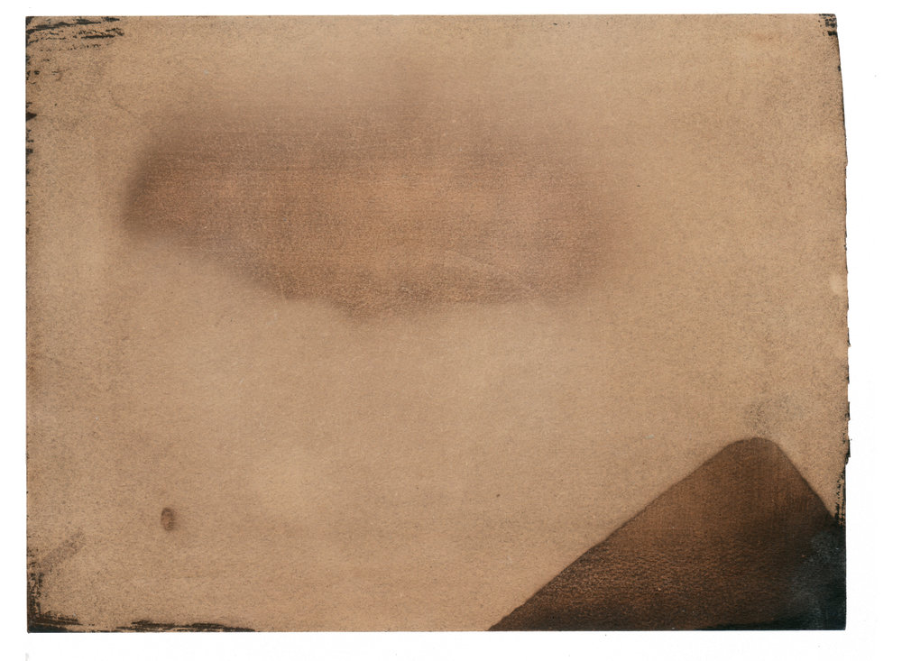 Jennifer Meridian Untitled Photo Print #3 (Cloud and Triangle Mountain)