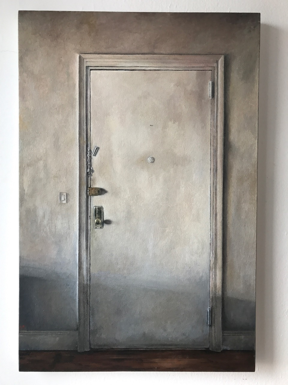 Andrew Shears  Front Door  oil on canvas