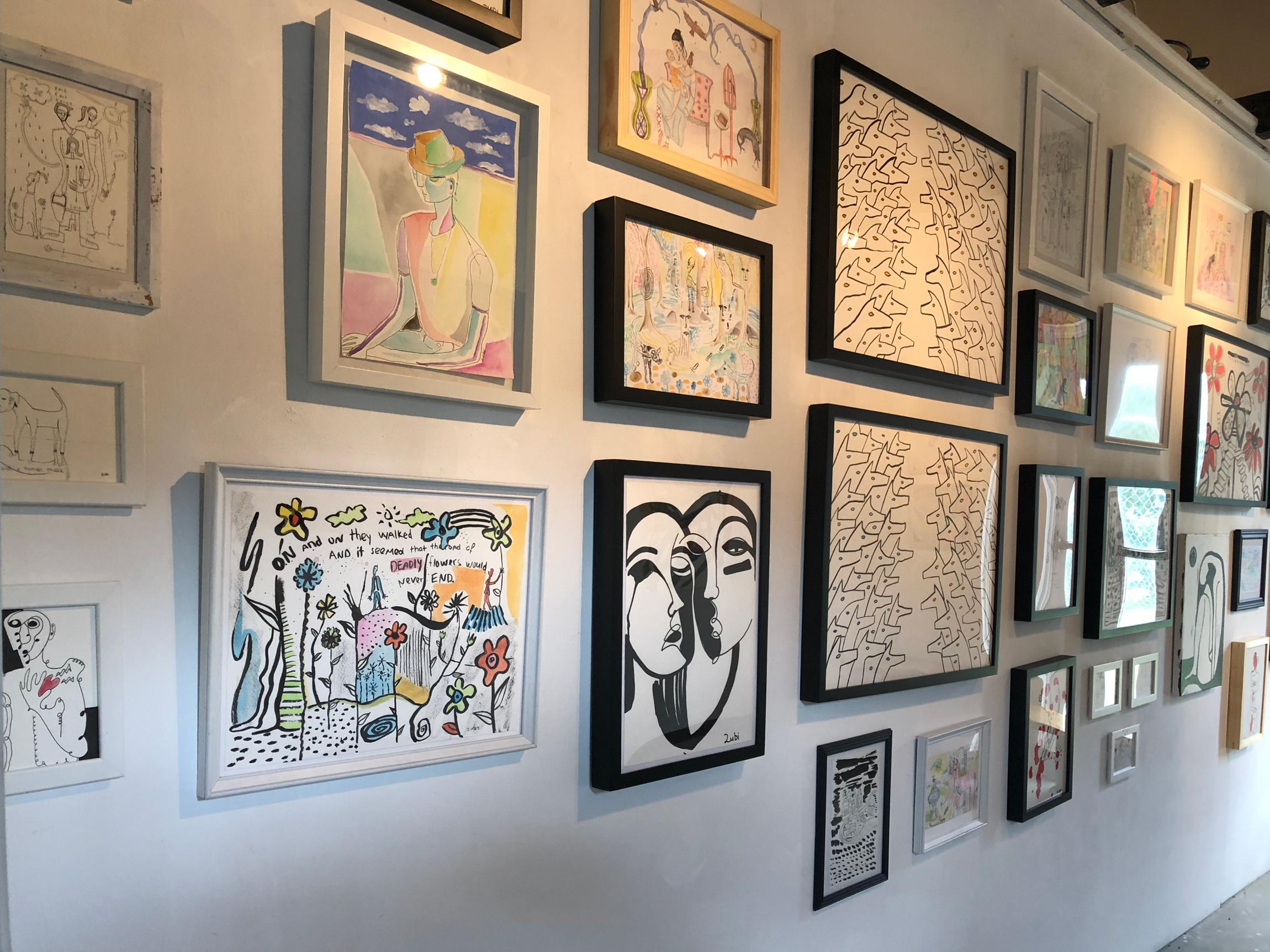 . Sofia Zu'bi  Wall of Visual Stories