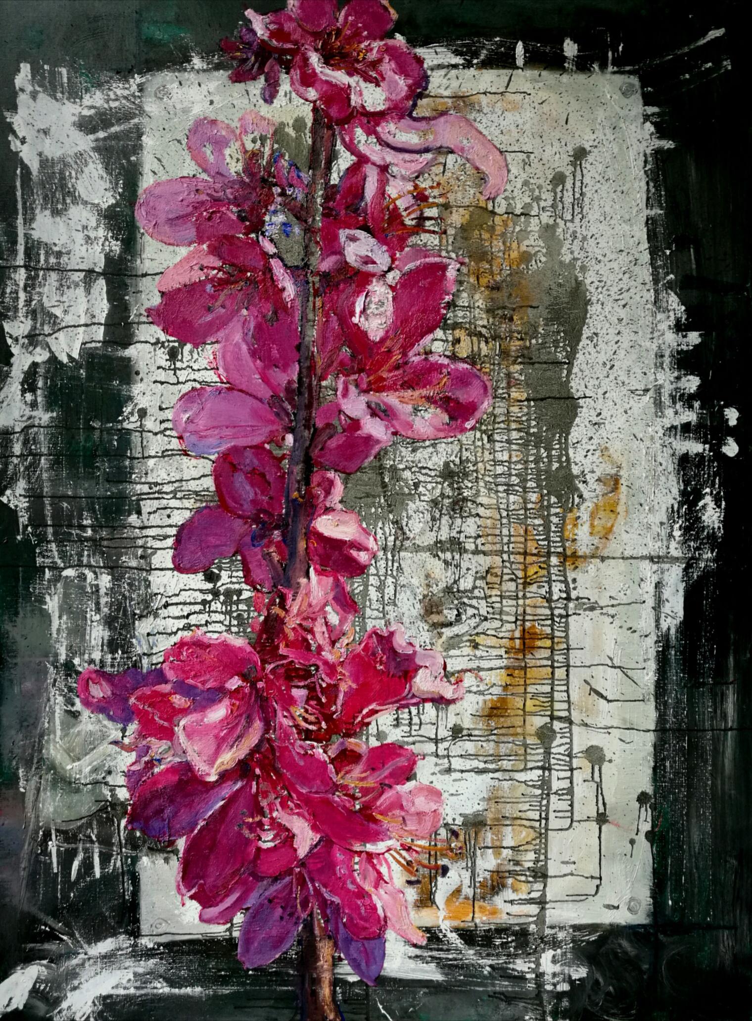 Peng Lie Hong Flower-04  160X120CM   $12,000.jpg