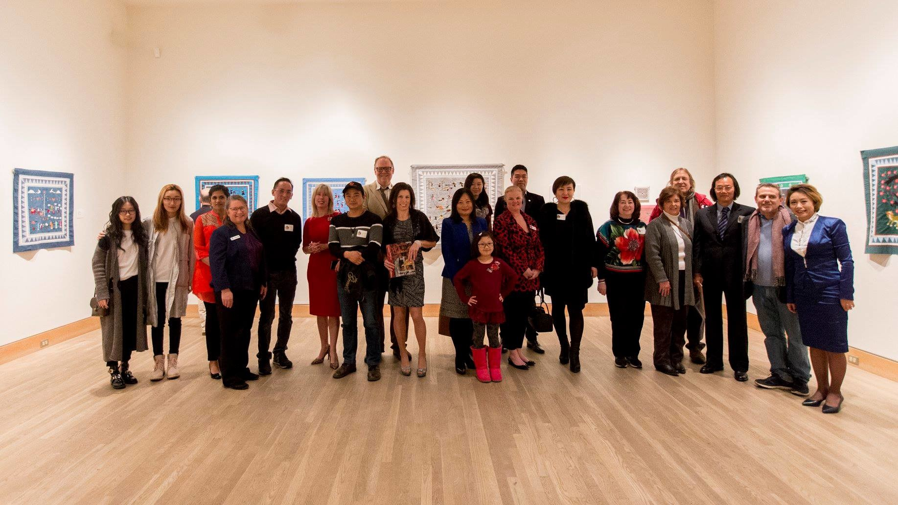 The Opening Reception for Arts of Asia and the Peninsula Fine Arts Center