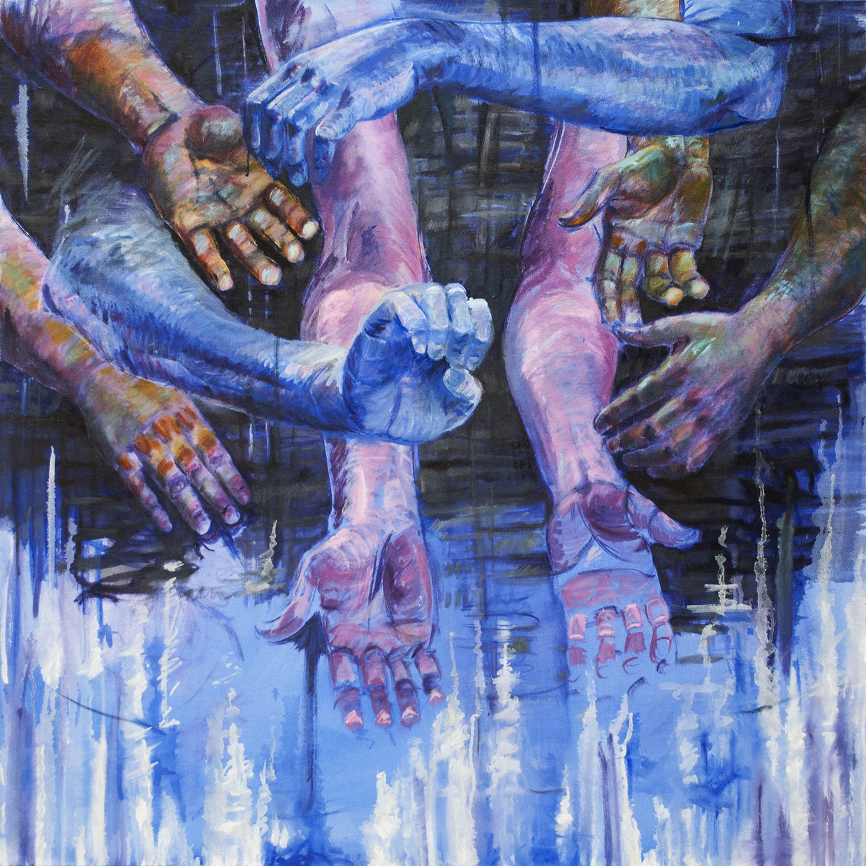 Teddy Johnson ,  Wash , 2018,  Linda Matney Gallery , $3,200,  Contact Gallery