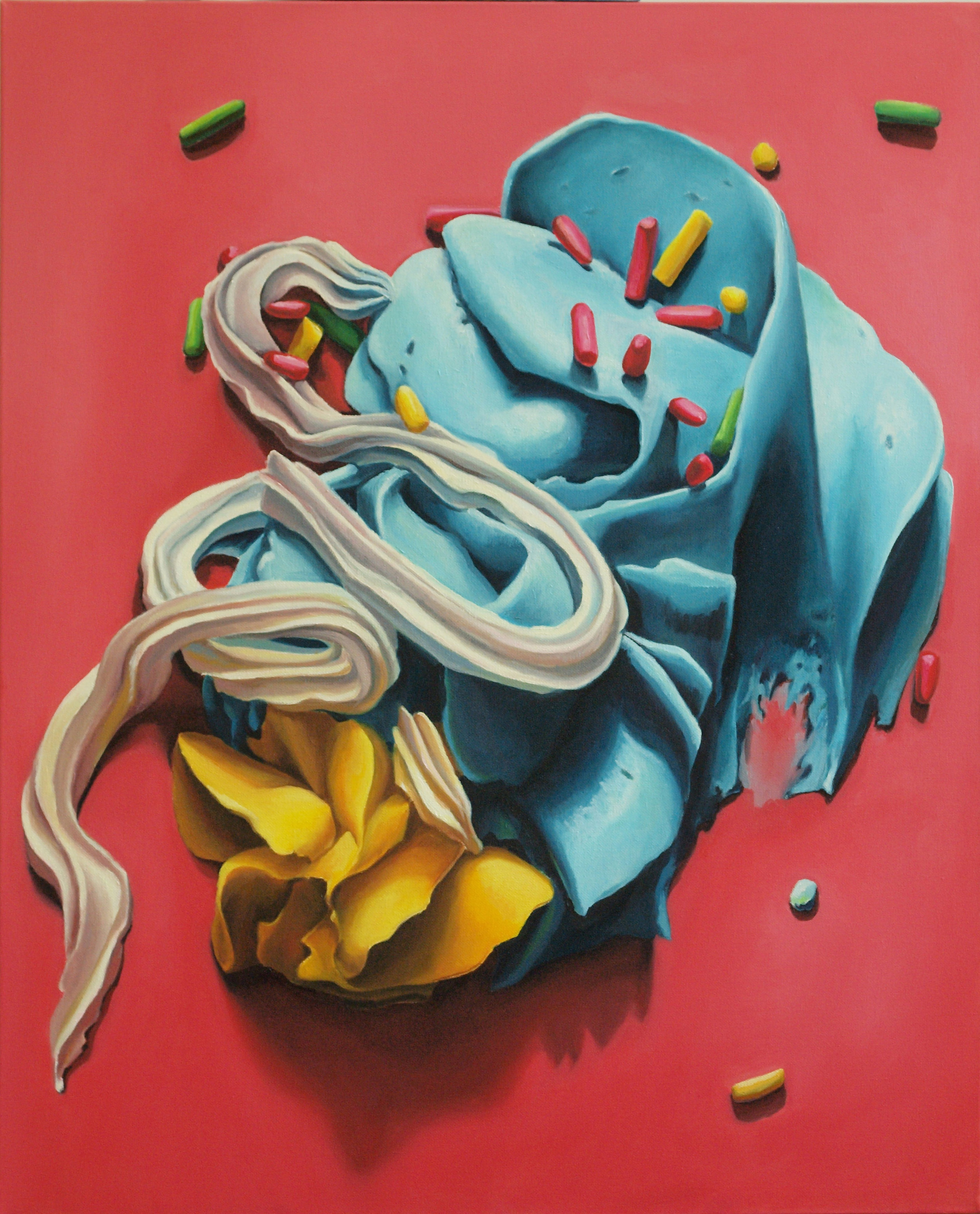 Christi Harris , Sugar Shock , 2011, Oil on canvas, 30 × 24 in  View on Artsy       76.2 × 61 cm