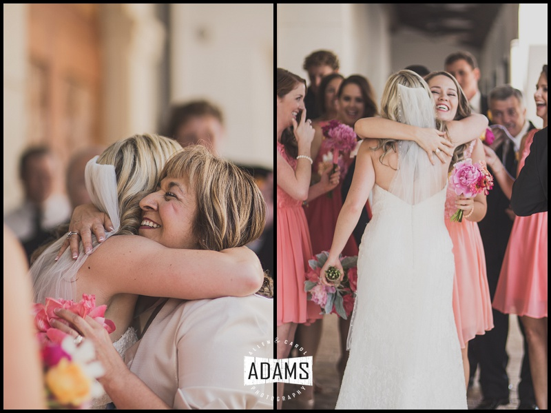 The congratulatory hugs right after the ceremony are always such a joy to capture! One of my favorite parts of the day, always!