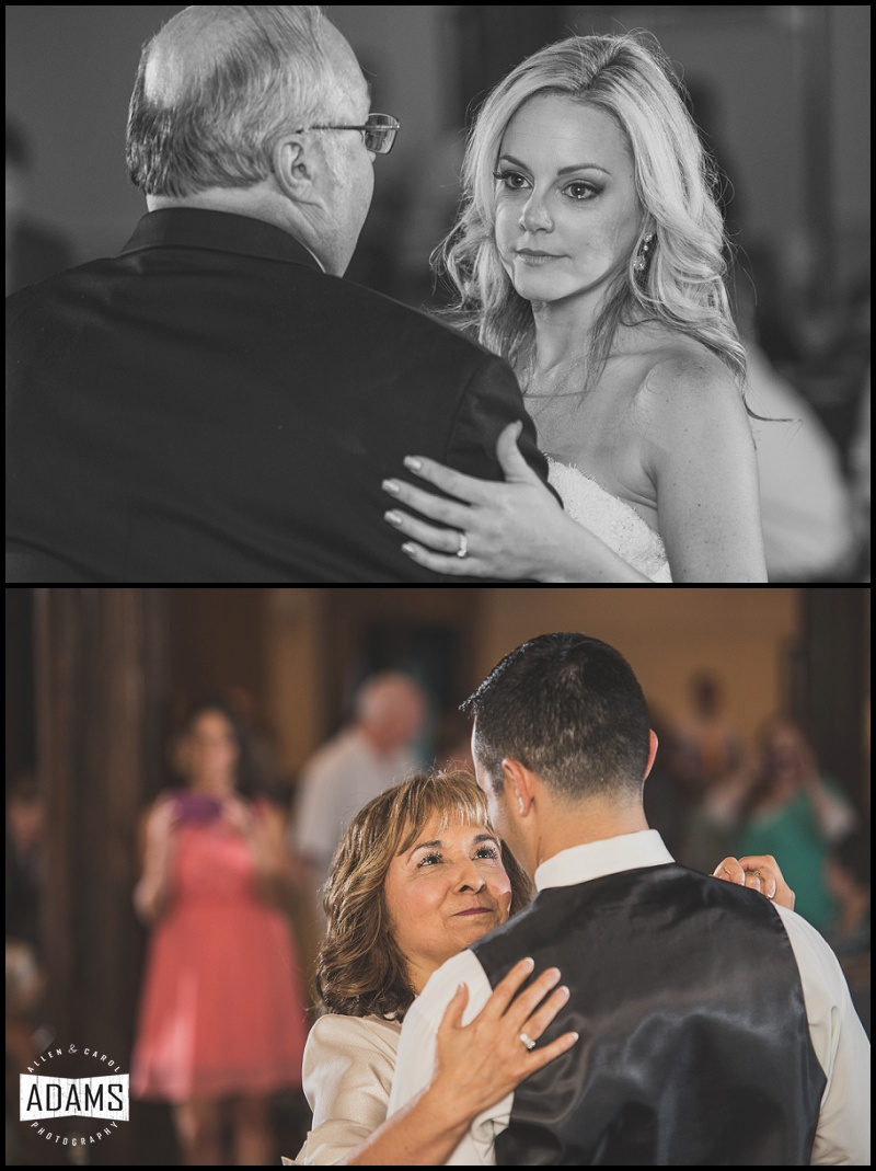 THE FATHER/DAUGHTER DANCE AND MOTHER/SON DANCE ARE ALWAYS SO SWEET!