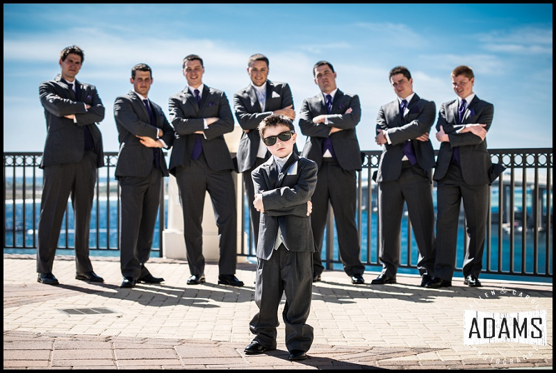 ALLEN ALWAYS HAS SO MUCH FUN PHOTOGRAPHING THE GUYS!