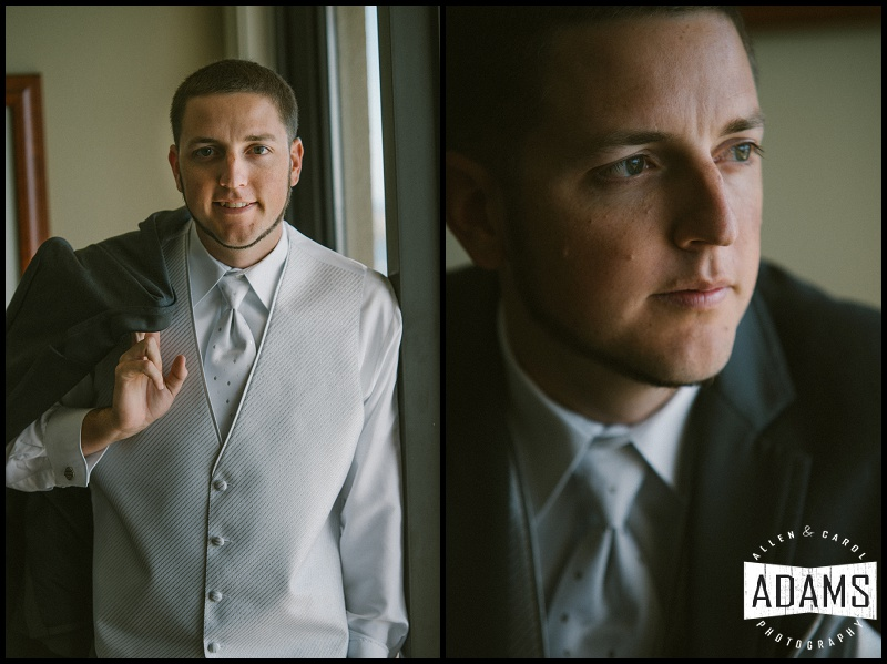 THE HANDSOME GROOM...READY FOR HIS BRIDE!