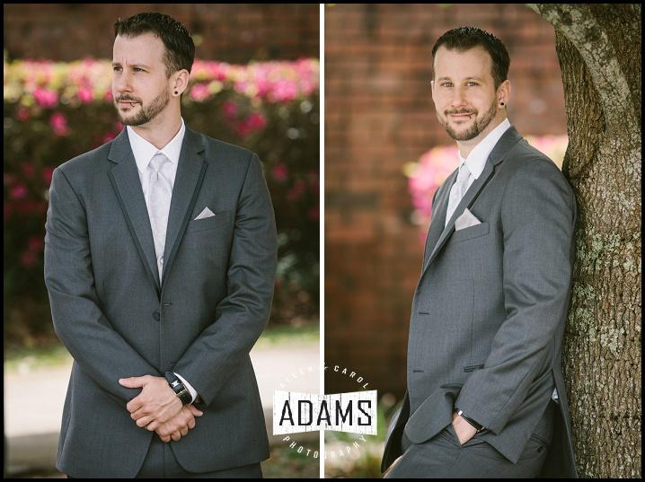 fort walton wedding groom