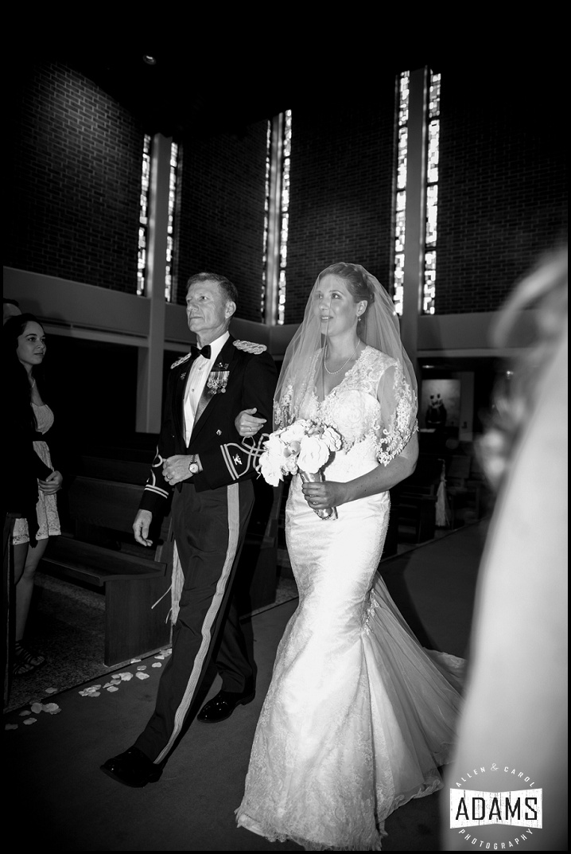 military catholic wedding