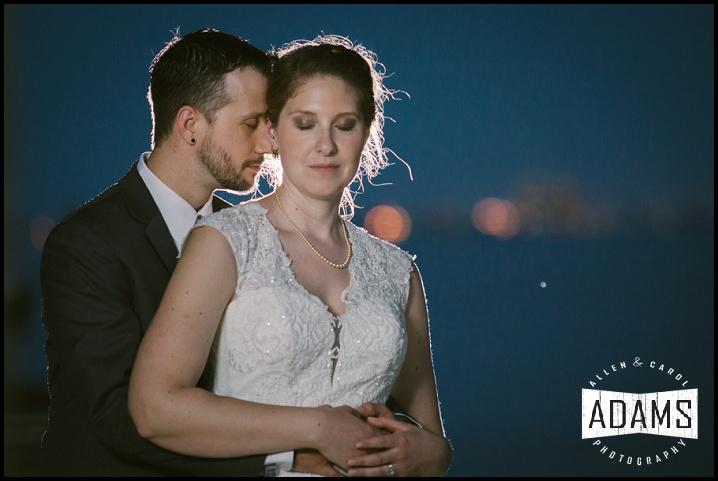wedding on water