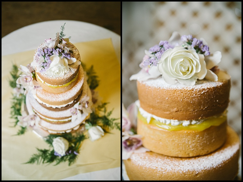 NOT ONLY WAS THIS NAKED WEDDING CAKE GORGEOUS BUT INSANELY DELICIOUS! YUM!!! I THINK WE HAVE A NEW FAVORITE CAKE!
