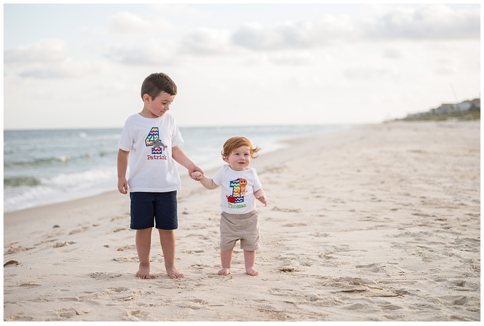 BOTH OF THESE BROTHERS WERE CELEBRATING BIRTHDAYS WHILE THERE! TOO SWEET!