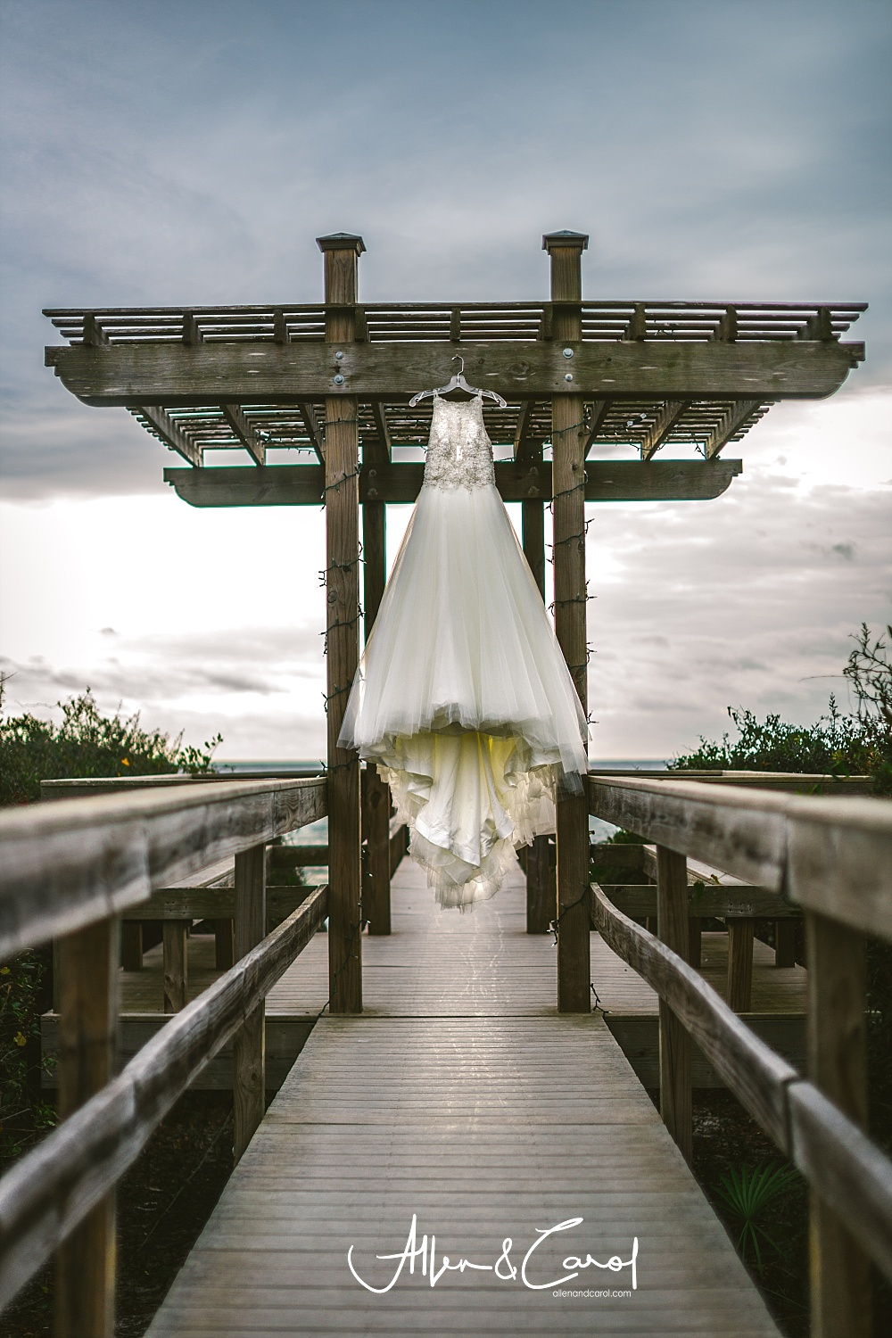 Stunning Wedding gown by Vocelles Bridal Shop!