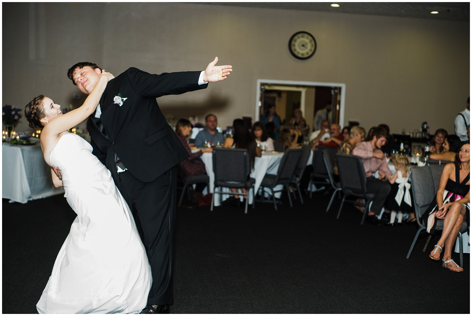 The first dance…filled with so much love …and humor! hehe