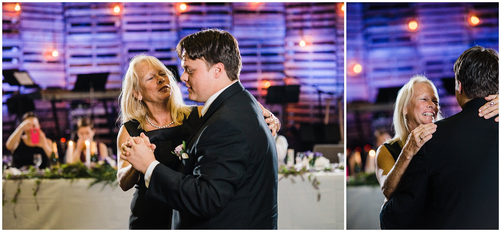 And the  Mother/Son dance. Oh my goodness!  I can't even go there, but I love watching these. And this one was so sweet.