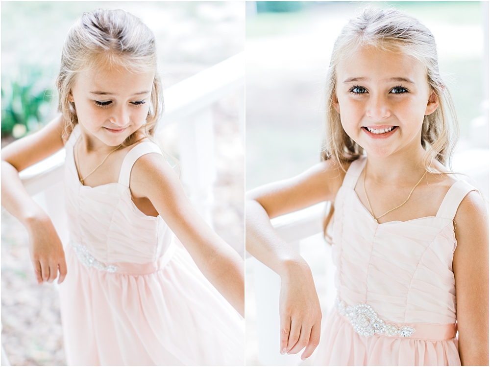 This adorable little girl is the daughter of the groom…and the flower girl!  We could have photographed her all day.  She has such a cute personality (and looks like her Daddy. LOL)