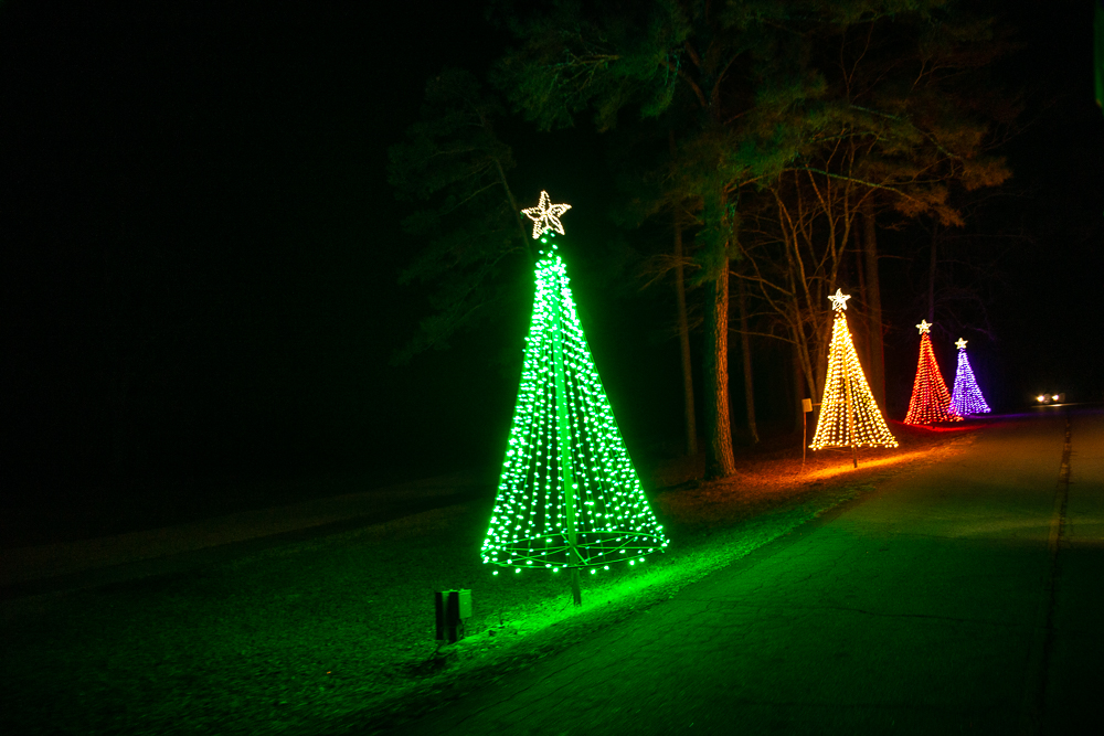 Callaway Gardens Christmas Lights.Callaway Gardens Birthday Trip Allen And Carol Photography