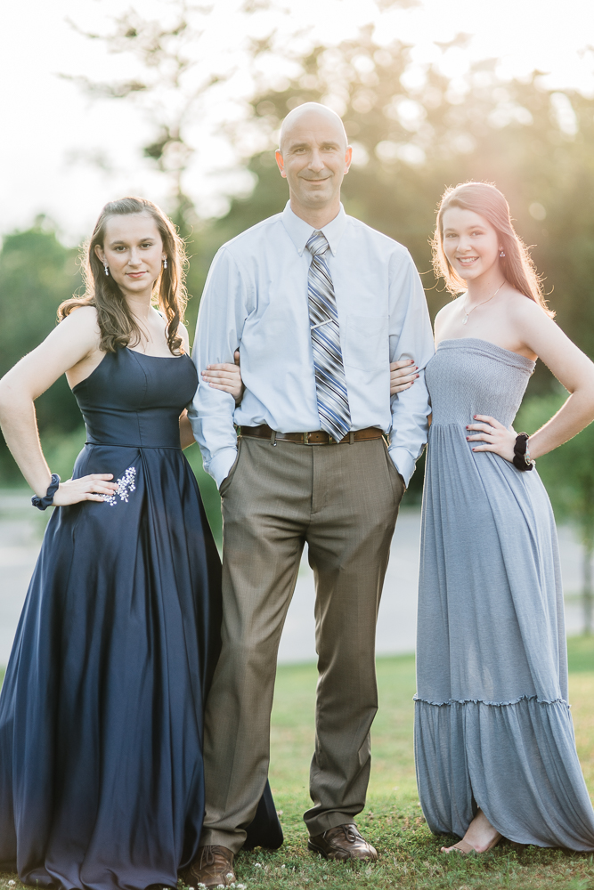 Ummm…speechless!!! Really don't know who's the lucky one in this photo?  The good lookin Dad or the the gorgeous daughters?  Okay…I vote both!  This guy here has loved his girls so well! Crazy proud of him!