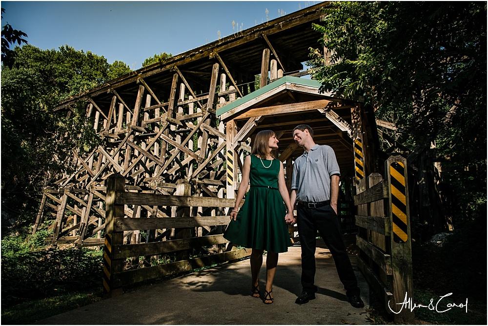 Tanyard Creek Park Engagement Photos