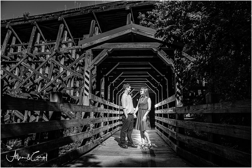 Covered Bridge Atlanta Engagement Photo Session