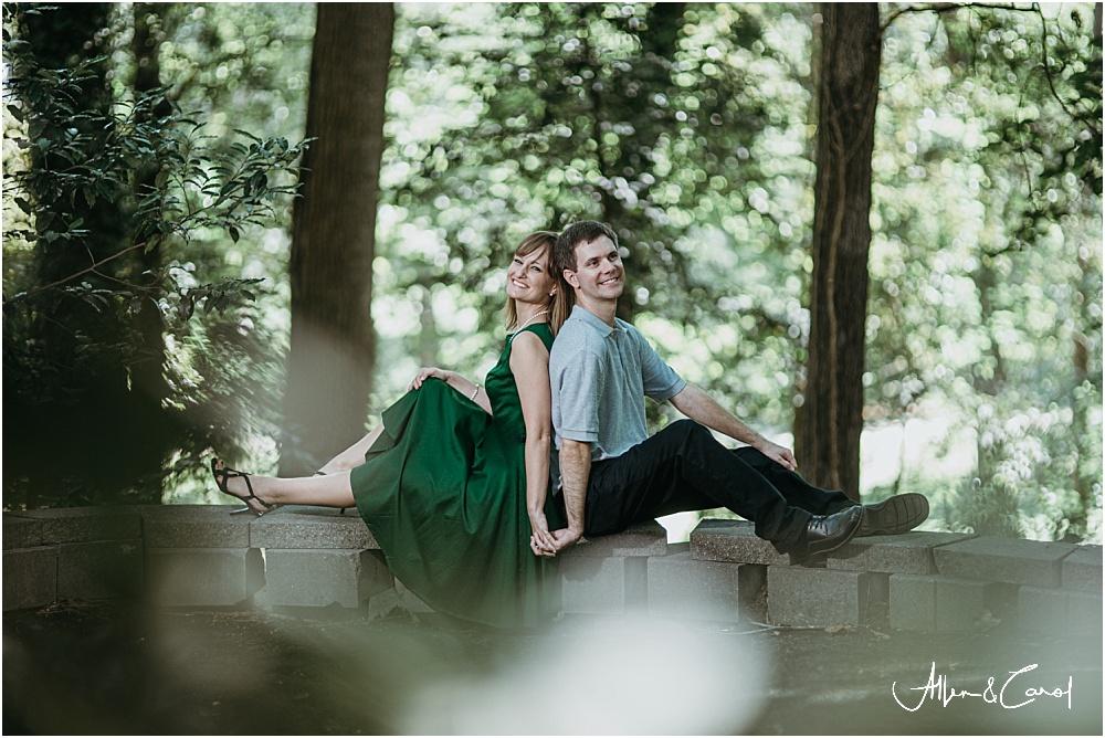 Engagement Photos at Tanyard Creek